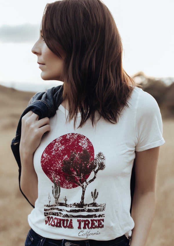 Joshua Tree Crew Neck Tee