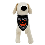 "Halloween ""This Is My Costume"" Dog Bandana"