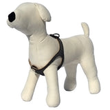 Gray Reflective No-Choke Dog Harness