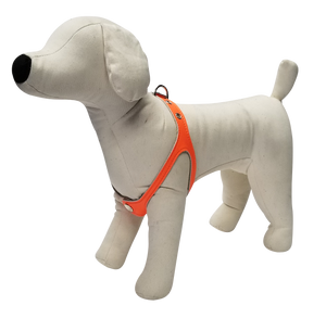 Orange Neon No-Choke Dog Harness