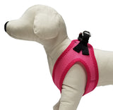 Pretty Pink So-Soft™ Mesh no-choke comfort harness