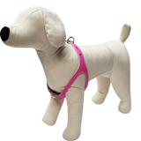 Pink Neon No-Choke Dog Harness