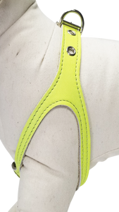 Yellow Neon No-Choke Dog Harness