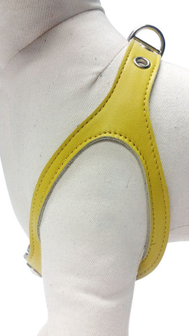 Banana Yellow No-Choke Dog Harness
