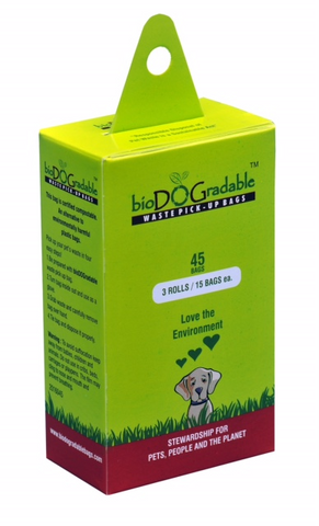 BioDOGradable poop bags