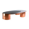 1969 copper low table - Moon series by Privatiselectionem - table basse en cuivre