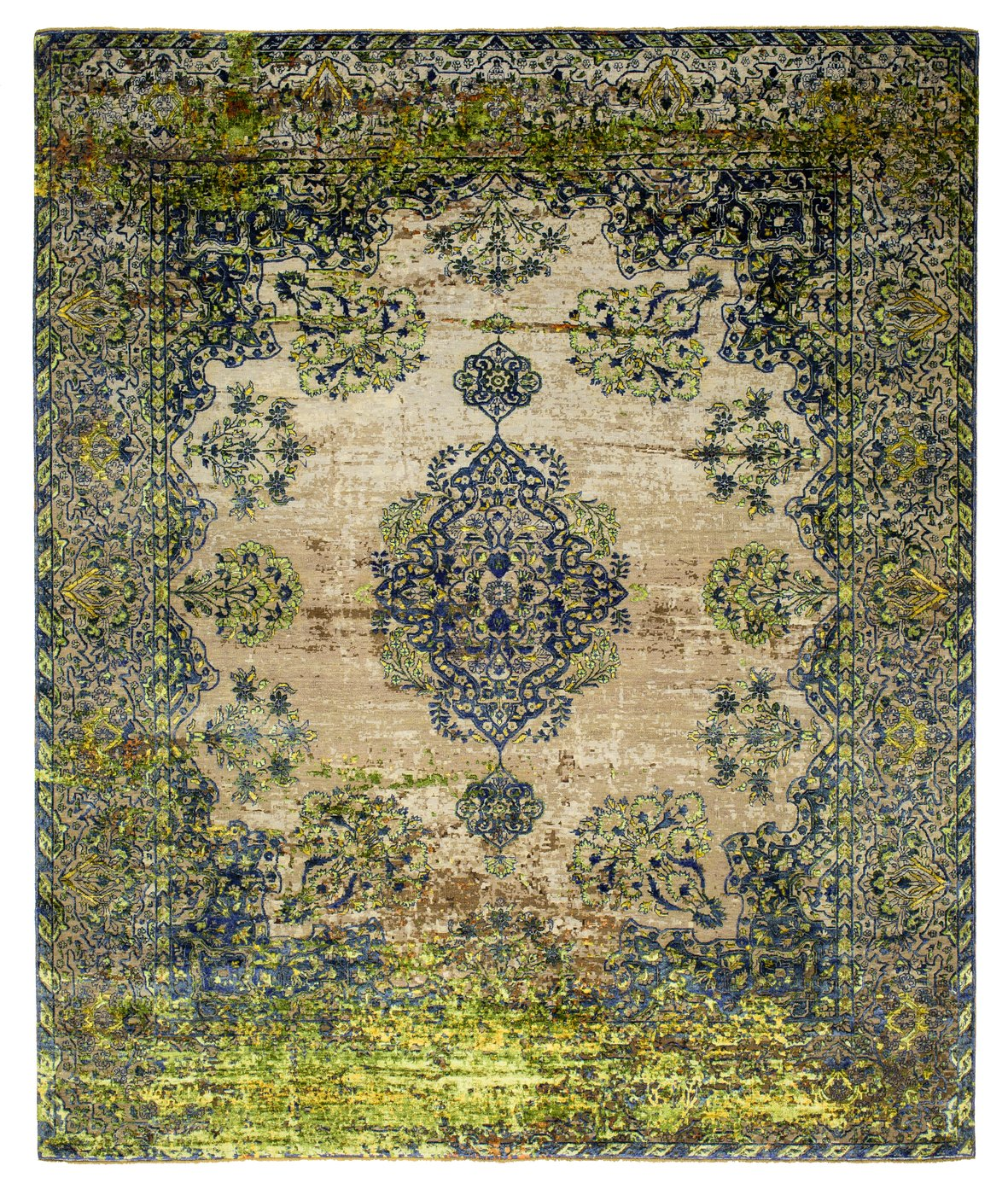 KIRMAN ROBSON GREEN, Rugs//Tapis, Jan Kath  - SORS