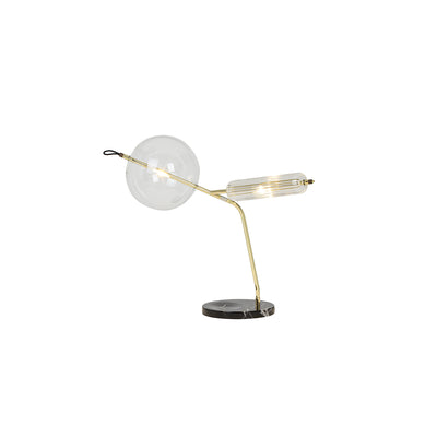 T-DOUBLE BRASS, Table lamp//Lampe de table  - SORS