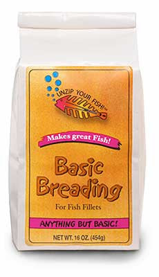 Basic Fish Breading No Bones About it