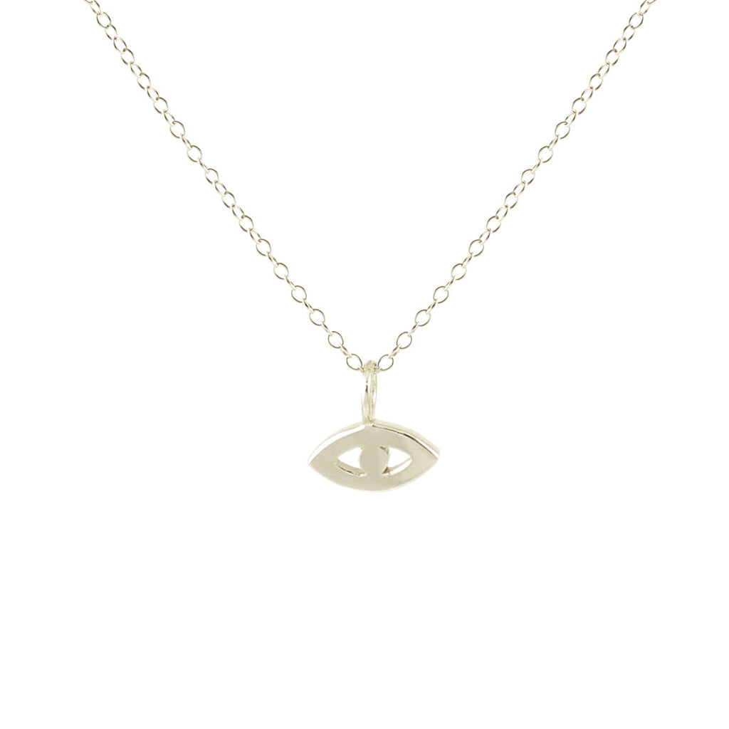 Kris Nation - Third Evil Eye Necklace - Silver