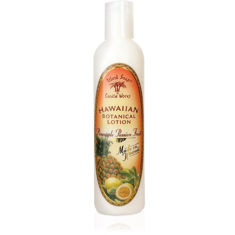 Island Soap - Hawaii Botanical Lotion - Pineapple Passion Fruit