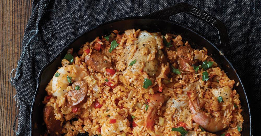 SEAFOOD AND CHICKEN JAMBALAYA RECIPE