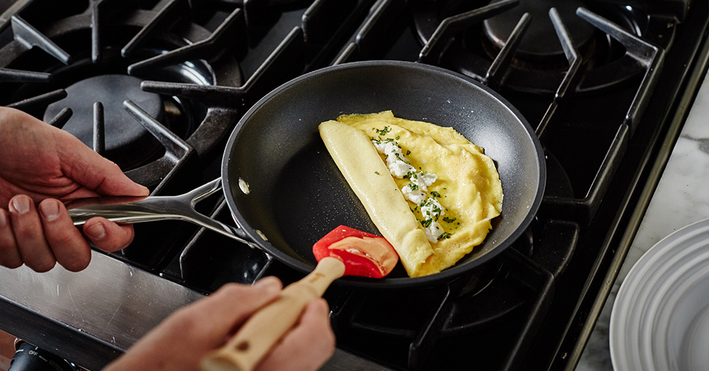 GOAT CHEESE OMELET