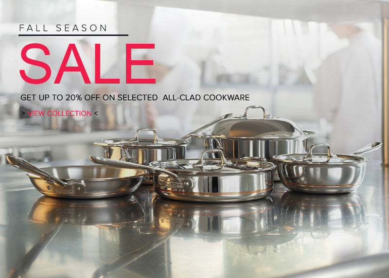 all-clad fall sale