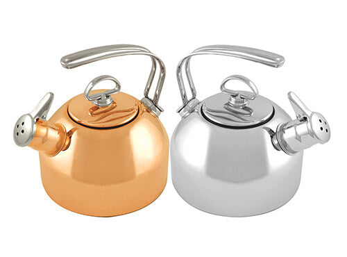 chantal tea stainless copper