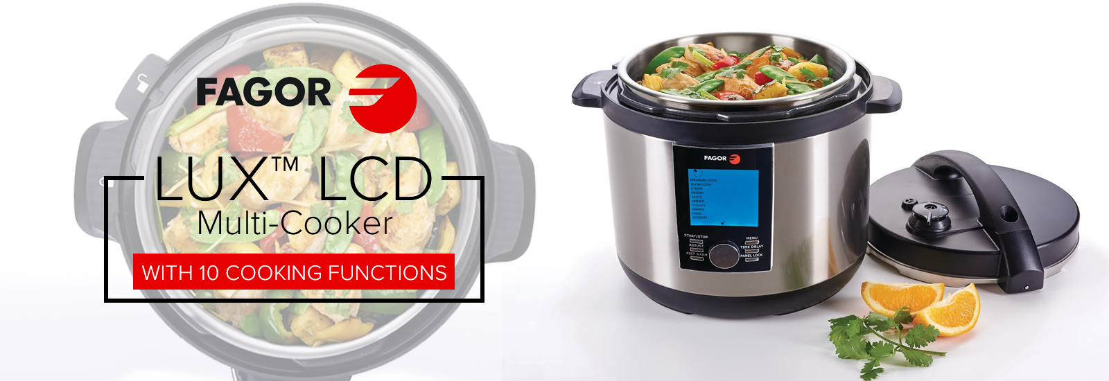 Fagor LUX LCD multi cooker