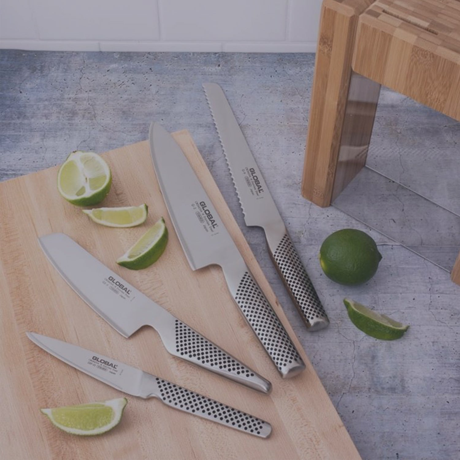 Global Classic Ludo 4-Must Have Knife Set