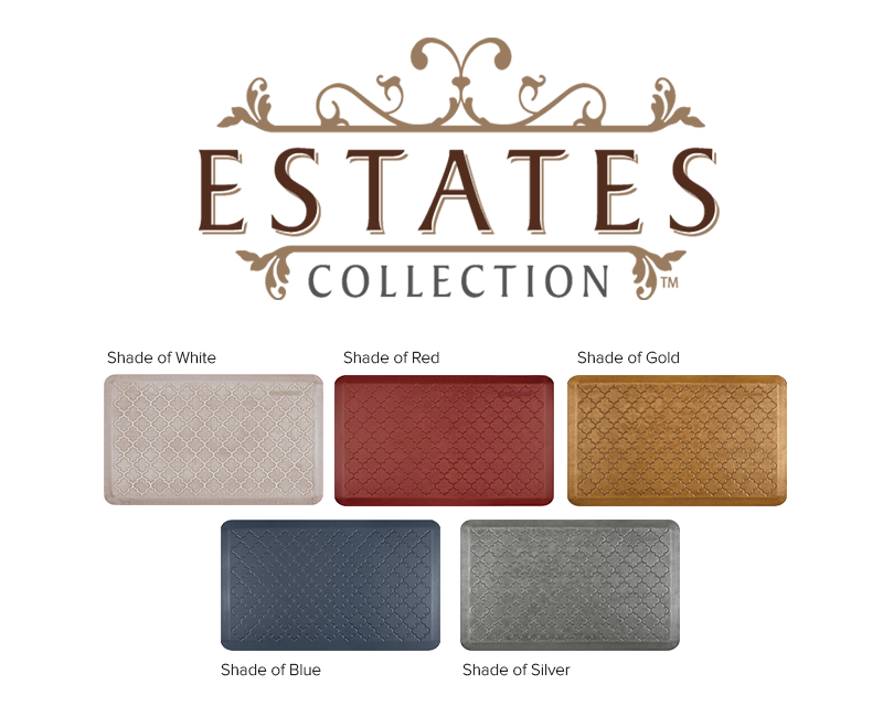 Wellness mats Estates Collection