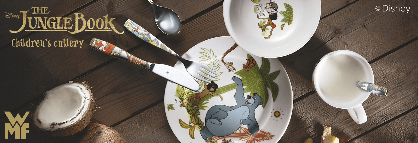 WMF tabletop and bar banner Children Cutlery