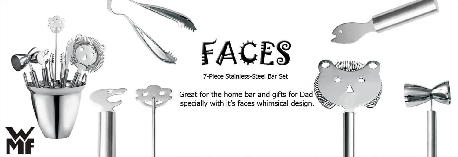 WMF tabletop and bar banner seven faces tool bars