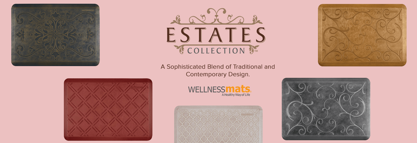 Wellness mats Estates banner