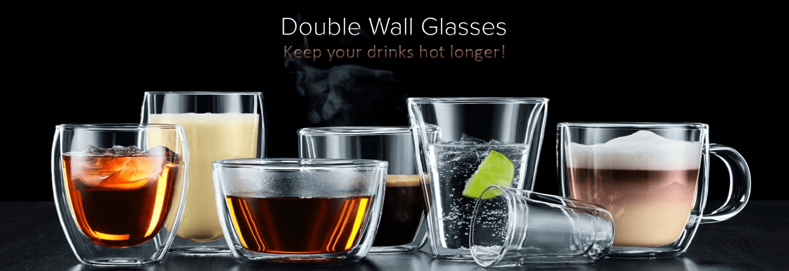 bodum Double wall glasses