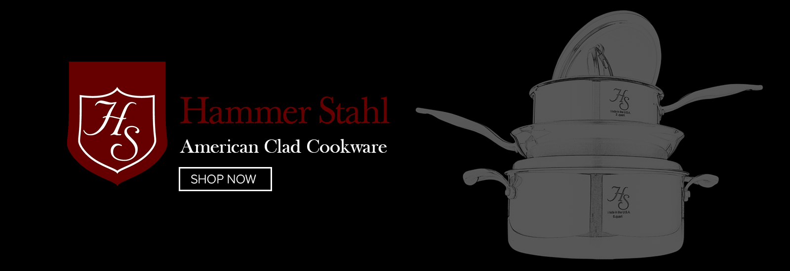 Hammer Stahl American Clad Cookware
