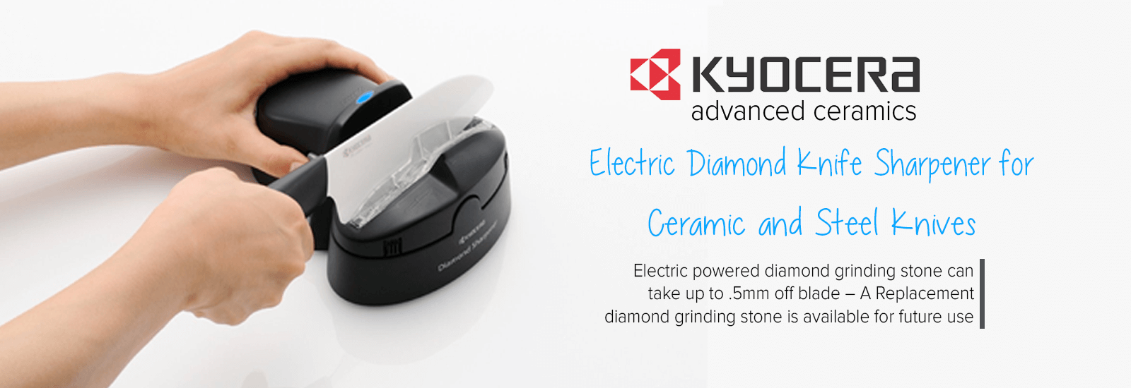 kyocera Electric Diamond Sharpener