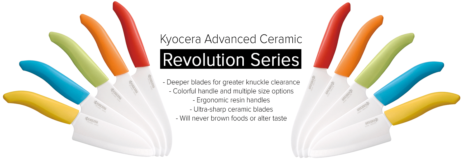 kyocera Revolution Series