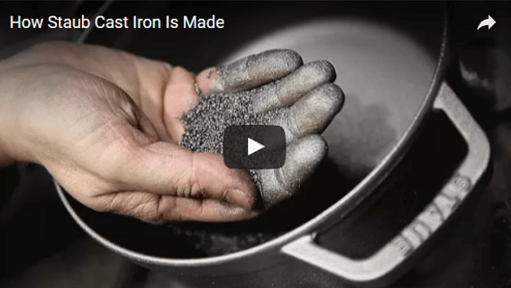 How STAUB Cast Iron Is Made