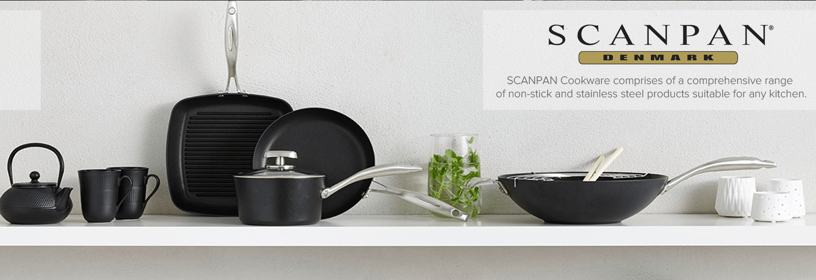 Scanpan Non-Stick Cookware