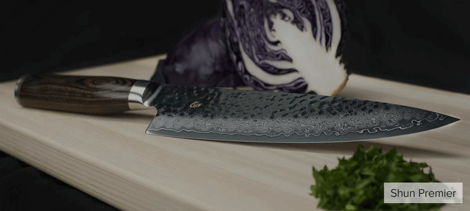 Shun knives features
