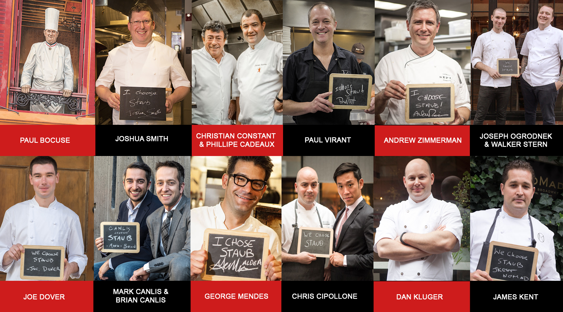 Chefs Who Choose Staub