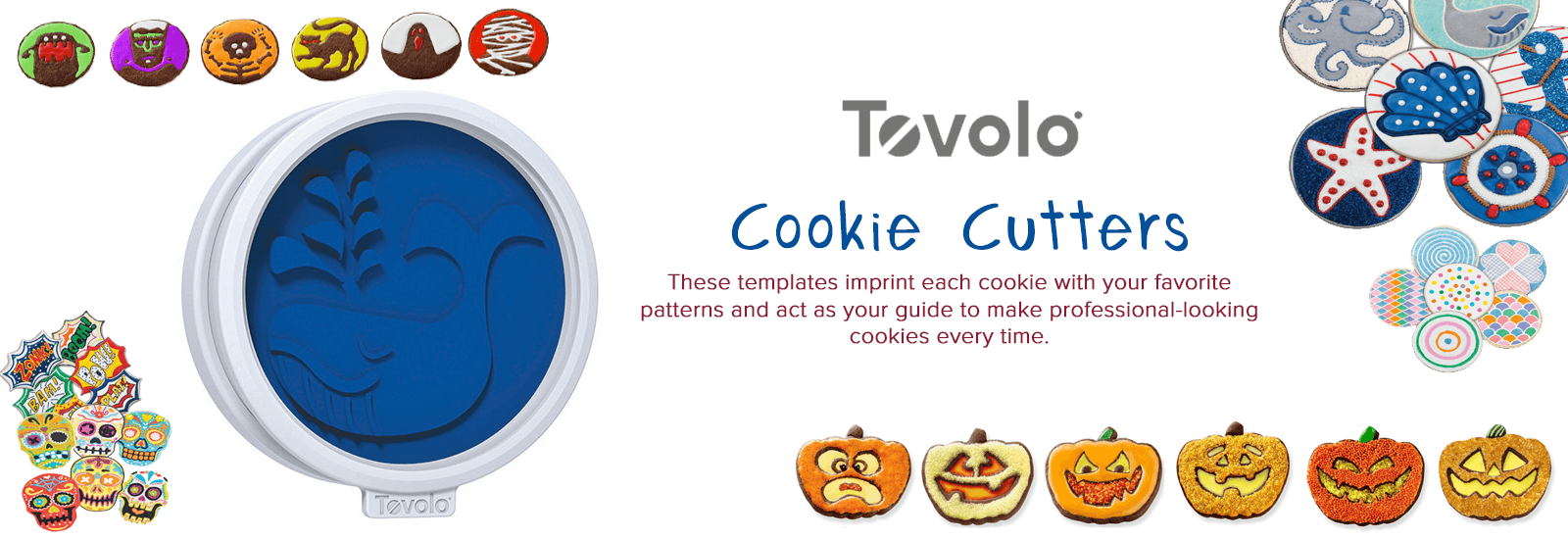 Tovolo Cookie Cutter banner