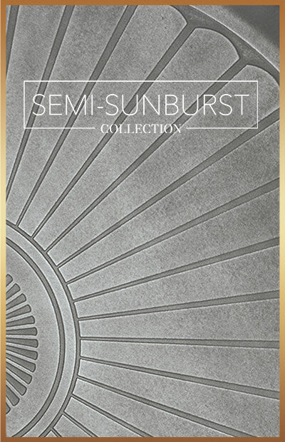 wellnessmats semi sunburst collection