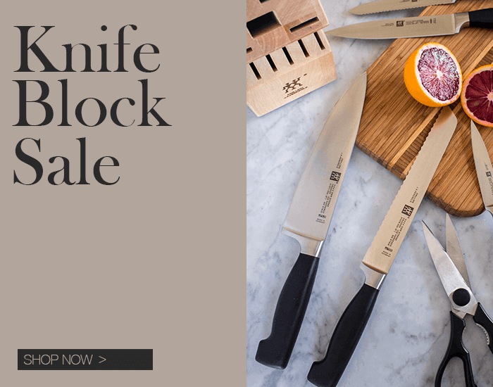 Zwilling J.A Henckels Knife Block Sale