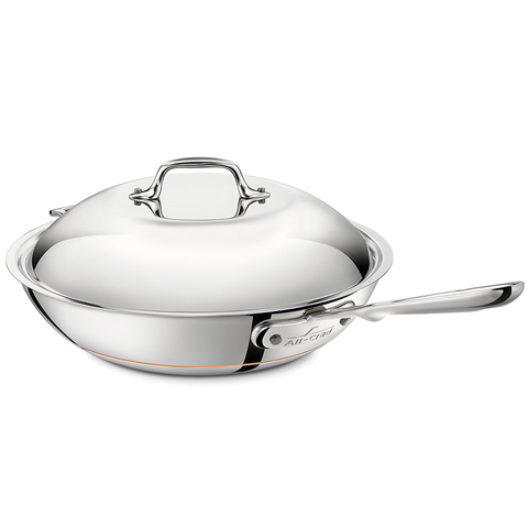 "ALL-CLAD COPPER CORE® 12"" CHEF'S PAN"
