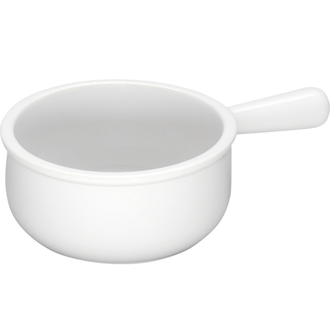 LE CREUSET 16-OUNCE FRENCH ONION SOUP BOWL - WHITE