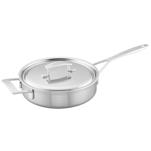 DEMEYERE INDUSTRY 5-PLY 3-QUART STAINLESS STEEL SAUTE PAN
