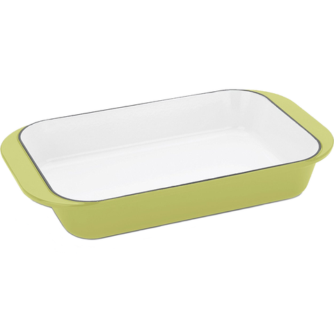 FAGOR MICHELLE B. RECTANGULAR BAKER - LEMON LIME
