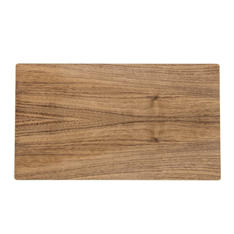 "Epicurean Rectangle Display/Serving Board, 13.75'' x 8"", Walnut/Slate"