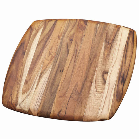 Teakhaus Cutting Board - Square Serving Platter With Rounded Edges