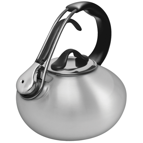 CHANTAL BRUSHED STAINLESS CLASSIC LOOP TEAKETTLE (1.8QT.)