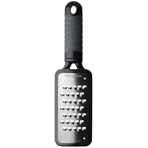 MICROPLANE HOME SERIES EXTRA COARSE GRATER FAMILY - BLACK