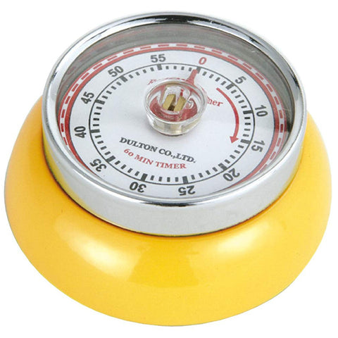 "Zassenhaus Kitchen Timer ""Retro"", Yellow"