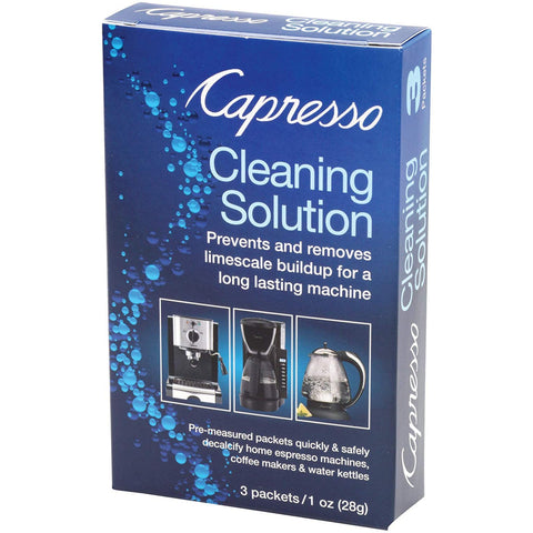 Capresso Cleaning Solution 3 packets 1 oz (28g)