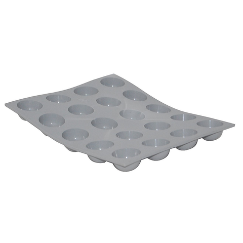 De Buyer Elastomoule 20 mini-hemispheres mould
