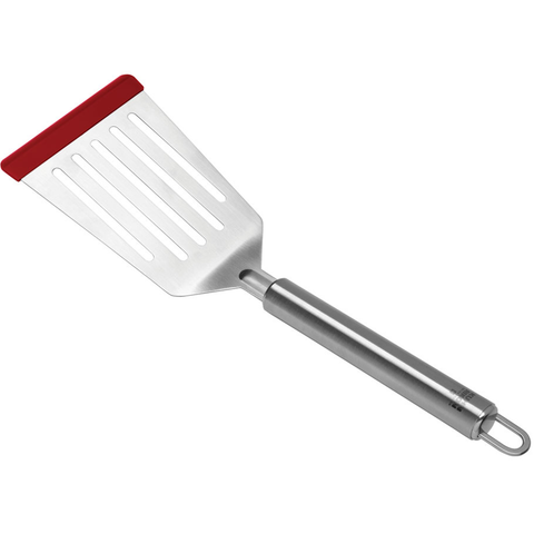 KUHN RIKON SOFTEDGE™ FLEXI TURNER, STAINLESS STEEL - RED