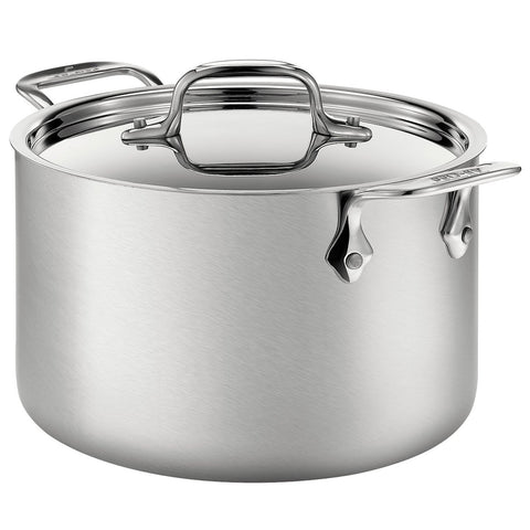 All-Clad D5® Stainless Brushed 12-Quart Stockpot