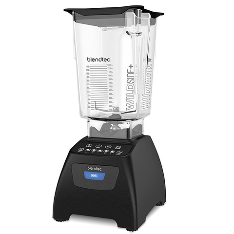 Blendtec Classic 575 Wildside+ Jar Blender - Black